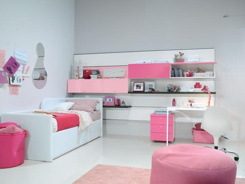 Amazing Colorful Bedroom Design For Girls