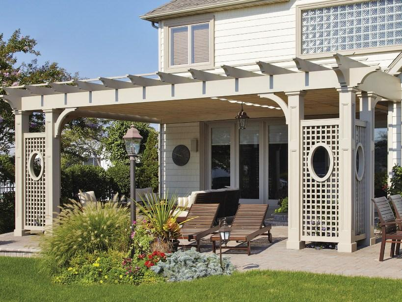 Amazing Front Home Canopy Decor Idea