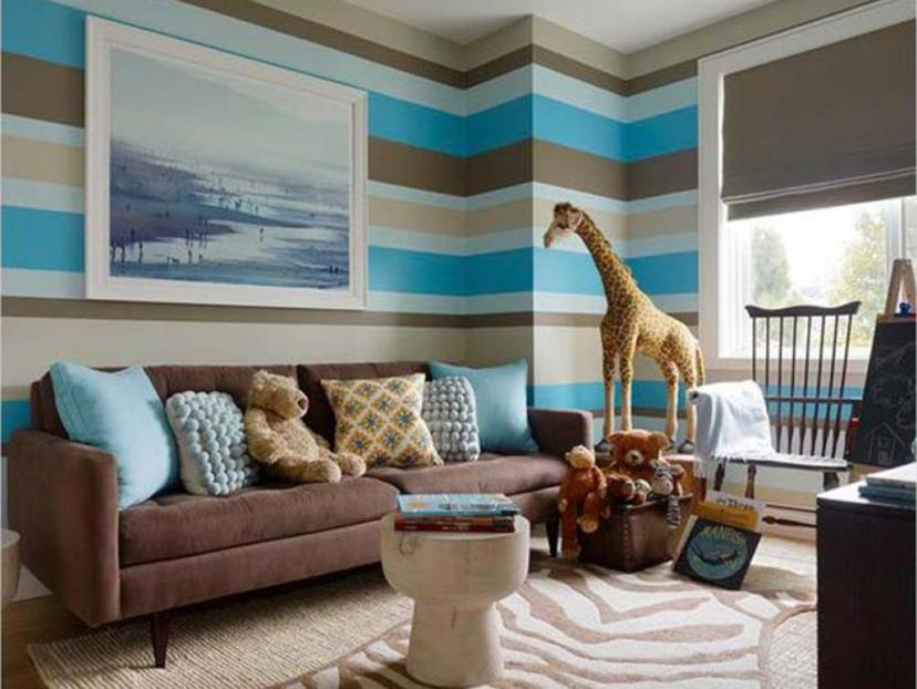 Amazing Paint Color Decoration For Children Room