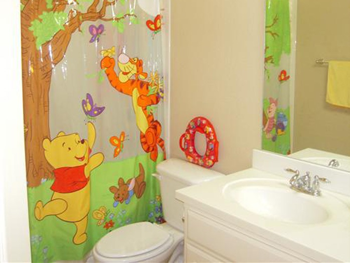 Attractive Bathroom Decor For Children