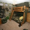 Awesome Army Bedroom Decoration Design Photo