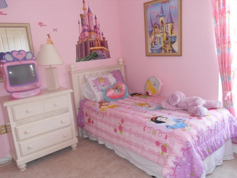 Awesome Bedroom Decoration For Young Girls