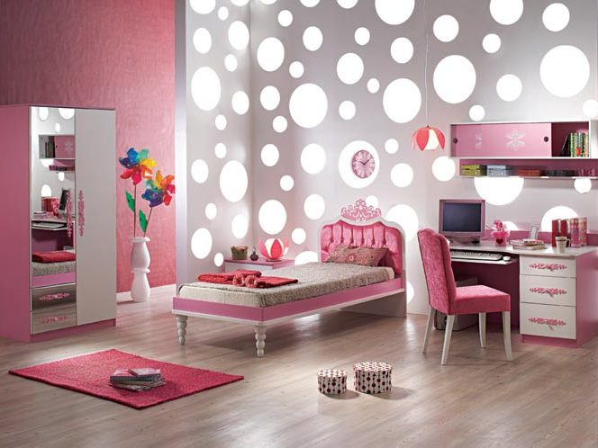 Awesome Bedroom Design For Girls Picture