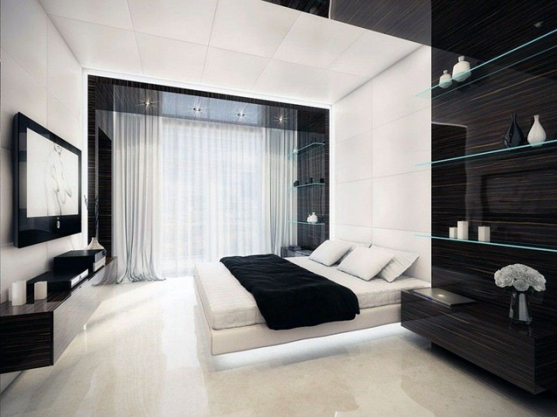 Awesome Black And White Bedroom Decor