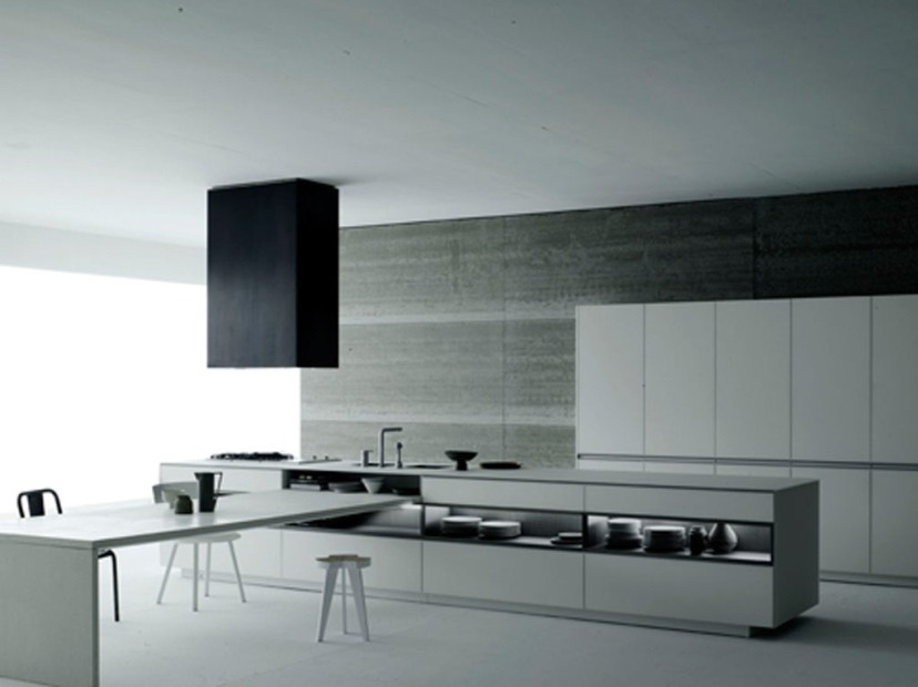 Awesome Black And White Kitchen Color