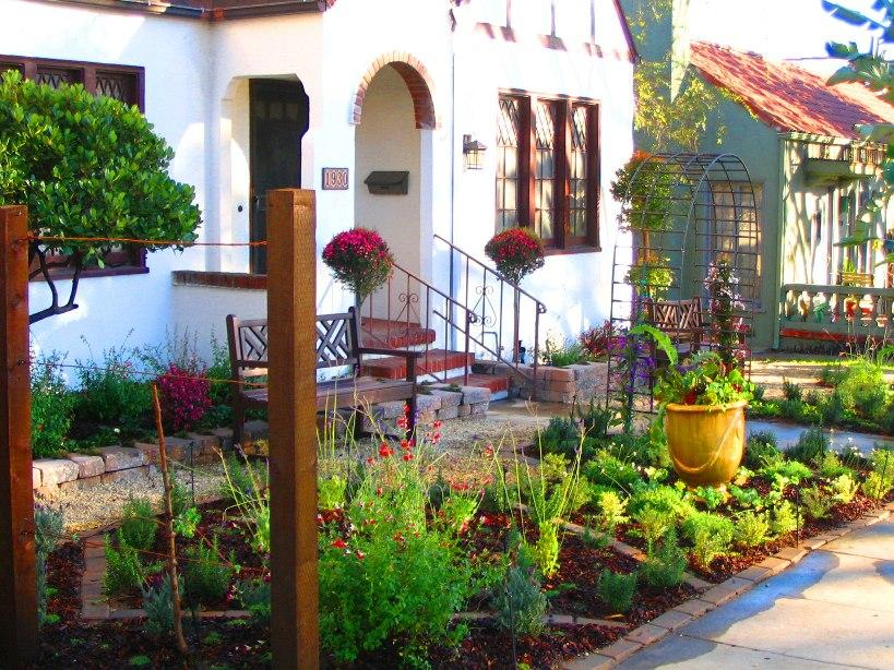 Awesome Front Home Garden Idea Image