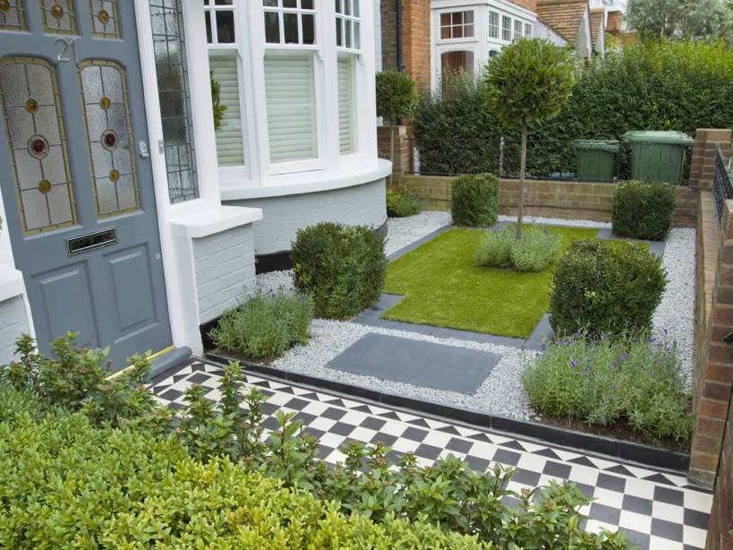 Awesome Small Garden In Front House