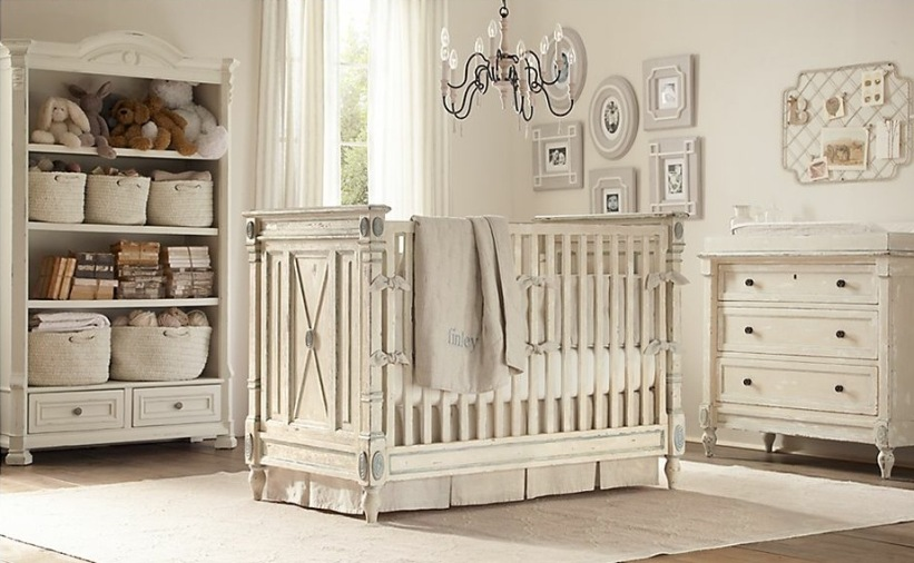 Baby's Bedroom Design With White Color