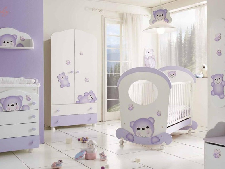 Beautiful And Cute Baby's Bedroom Decor