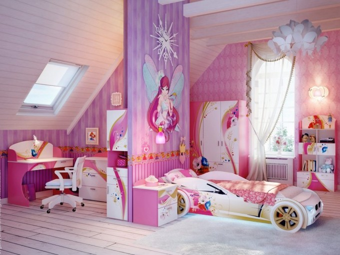 Beautiful Bedroom Design For Teen Girls
