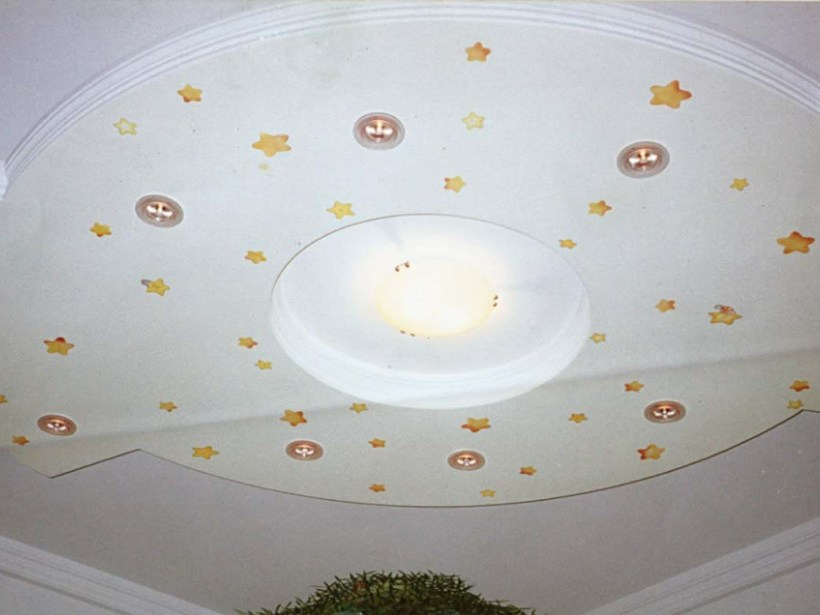 Beautiful Gypsum Ceiling Idea For Minimalist House