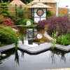 Beautiful Japanese Home Garden Design Image