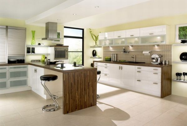 Beautiful Modern Kitchen Decoration Design Image