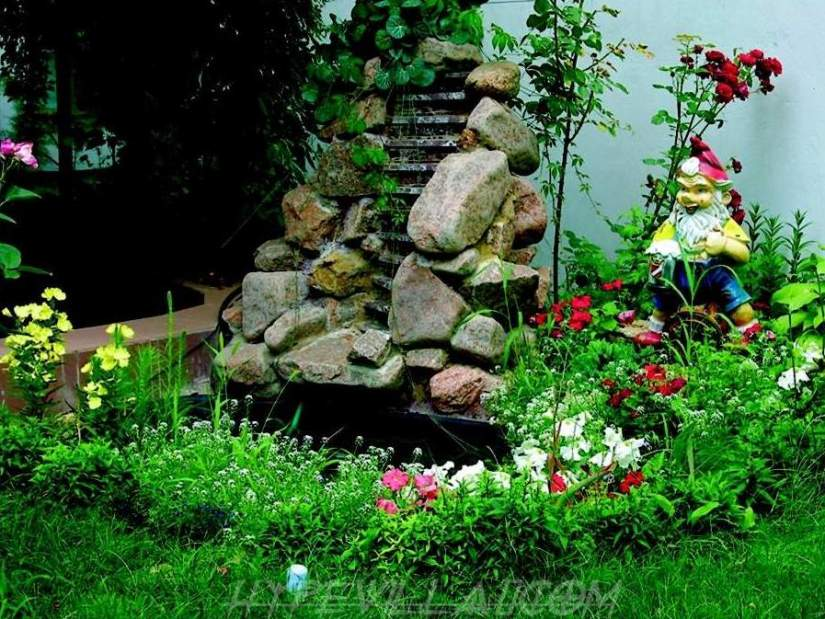 Beautiful Pond Idea In Home Garden