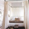 Bedroom Canopy Idea With White Color