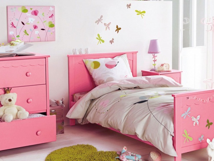 Bedroom Decor Idea For Beautiful Girls