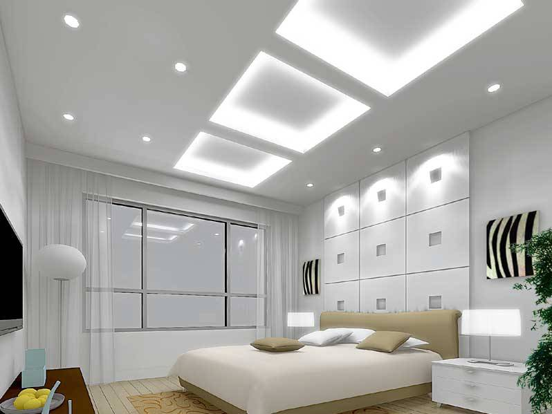 Bedroom Lighting Idea For Minimalist Home