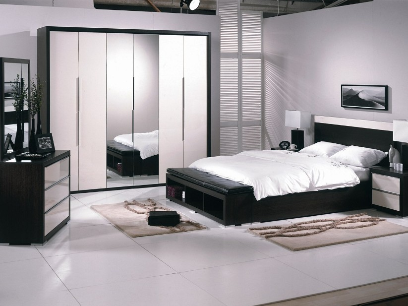 Black White Bedroom Furniture: Newest Main Bedroom Design Tips 2018