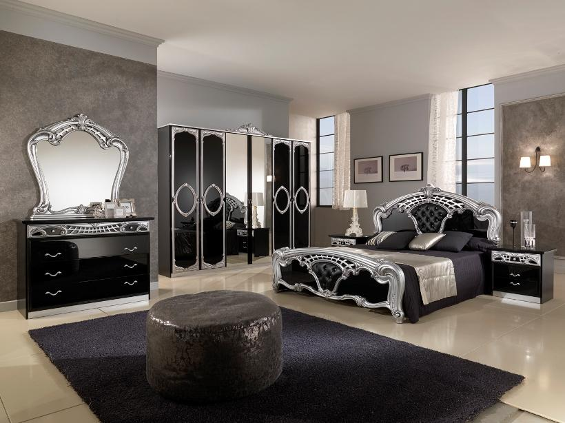 Black And White Decor Furniture Idea