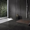 Black Color Idea For Modern Minimalist Bathroom