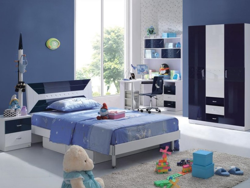 Boys Bedroom Interior Decor Design Image