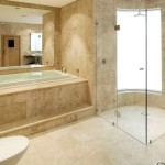 Bright Yellow Bathroom Color For Minimalist Home