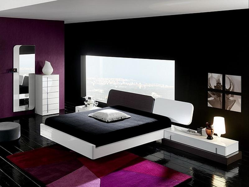 Charming Color Combination For Simple Bedroom