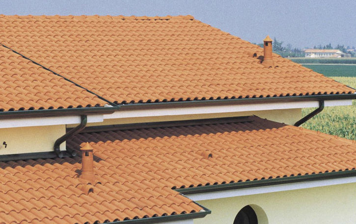 Clay Roof Idea For Minimalist Home