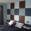 Colorful Bedroom Wall Paint Design Photo