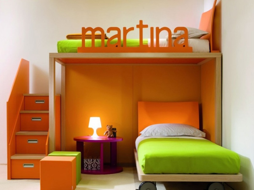 Colorful Boy Bedroom Paint Design Idea