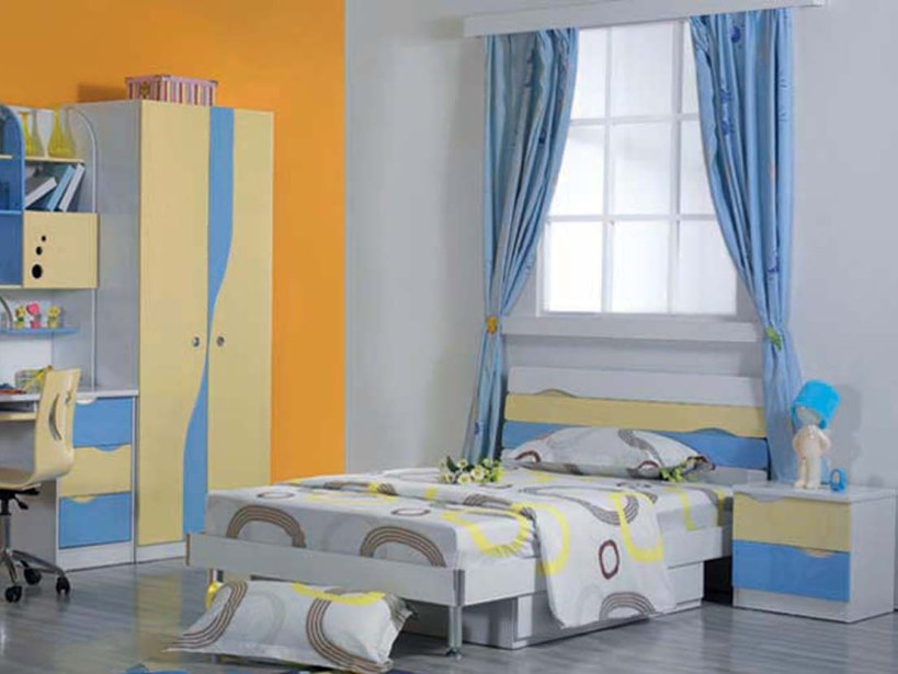 Colorful Paint For Child Bedroom Design