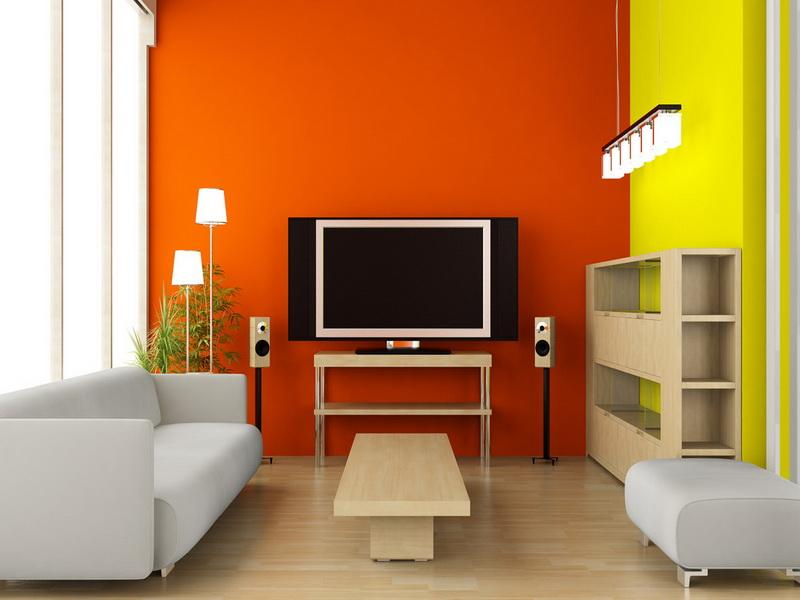 Colorful Paint For Modern Home Interior