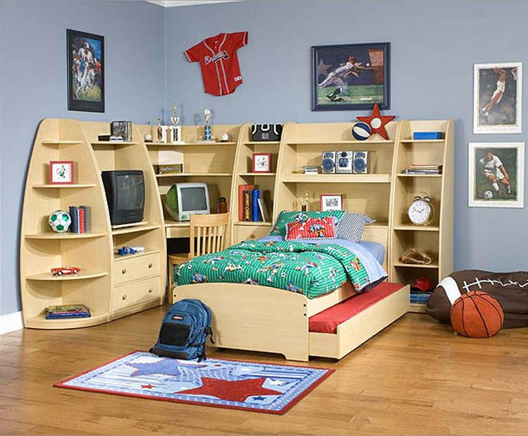Contemporary Children Bedroom Furniture Design Photo