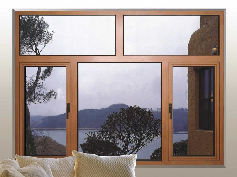 Cool Home Window With Wooden Frame