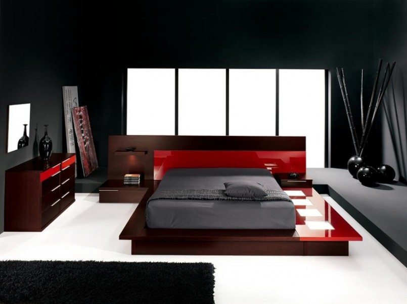 Cool Modern Men Bedroom Design Image