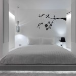 Cool White Bedroom Decor Idea Image