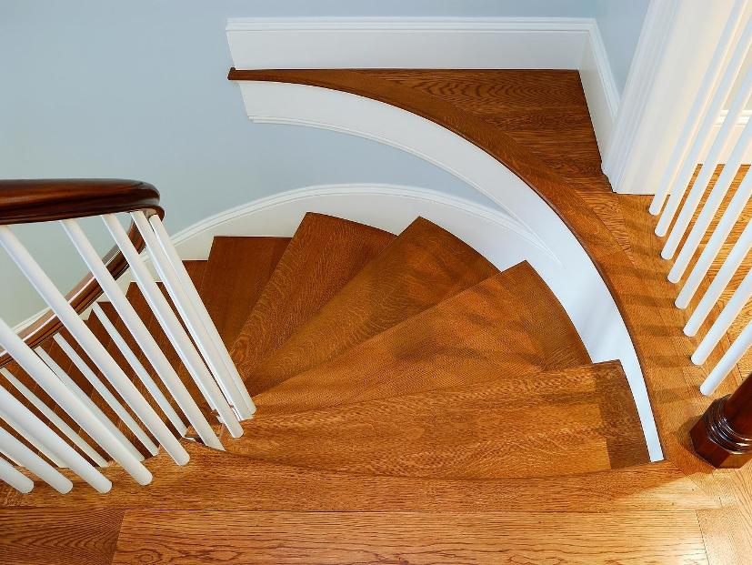 Cool Wooden Stairs Design For House