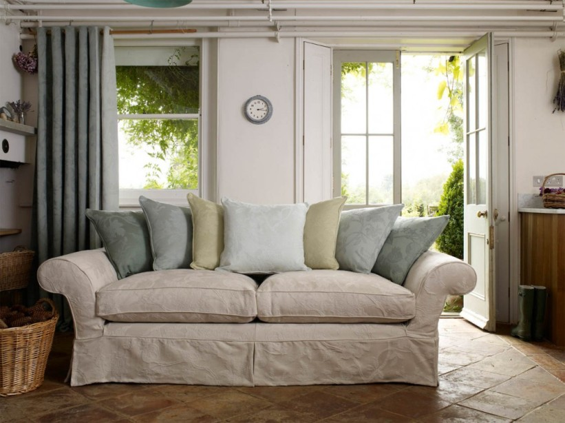 Country Sofa Idea For Minimalist Home