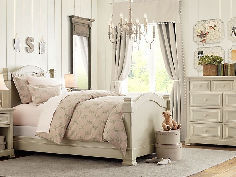 Cream Color For Girls Bedroom Design