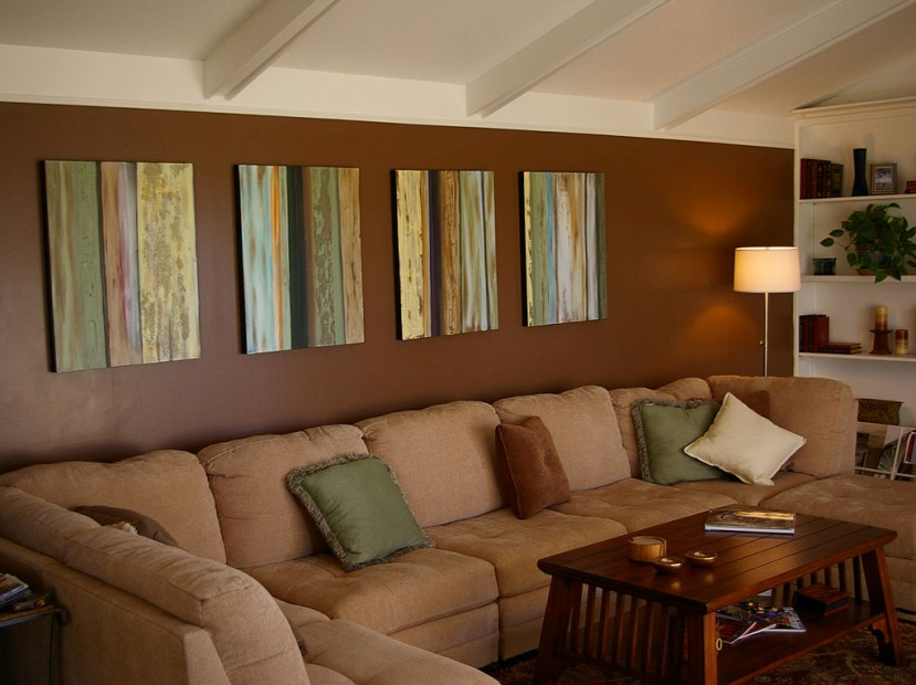 Nice ... Creative Brown Living Room Design Image ... Part 32