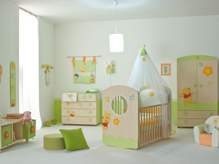 Cute Bedroom Decoration Idea For Baby
