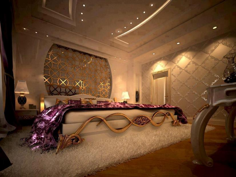 Elegant And Romantic Main Bedroom Design
