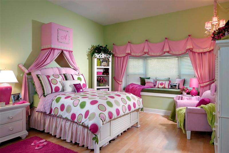 Amazing Elegant Bedroom Design Idea For Girls