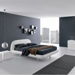 Elegant Black And White Bedroom Idea