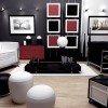 Elegant Black And White Home Interior