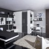 Elegant Black And White Teen Bedroom