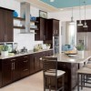 Elegant Brown Kitchen Cabinet Paint Color
