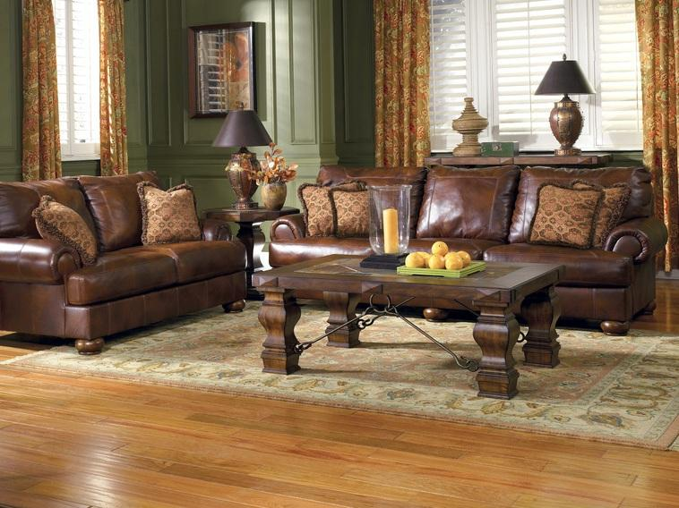 Elegant Brown Living Room Paint Color