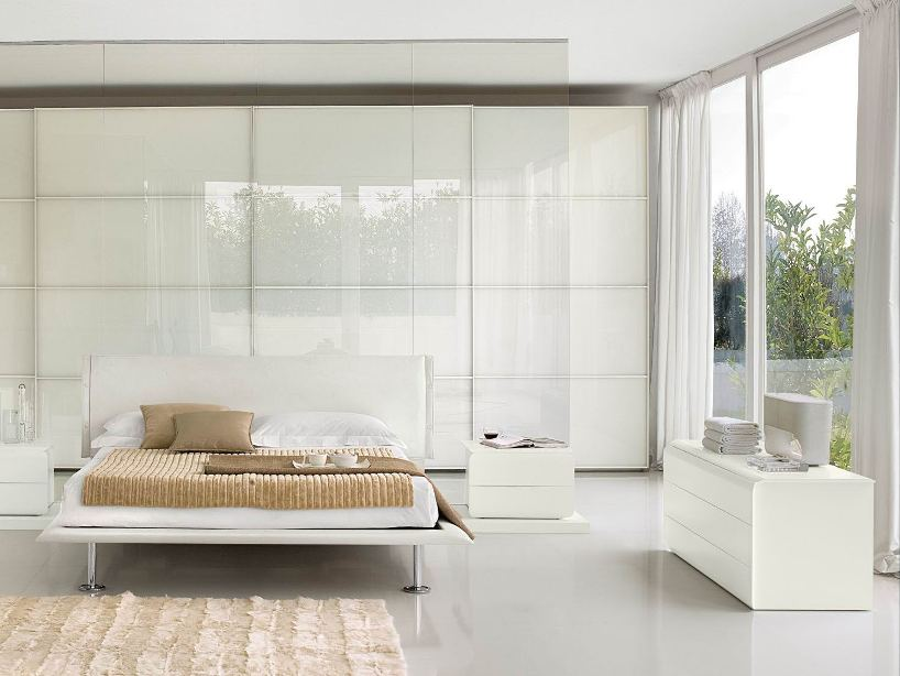 Elegant Contemporary Home Bedroom Decor Idea