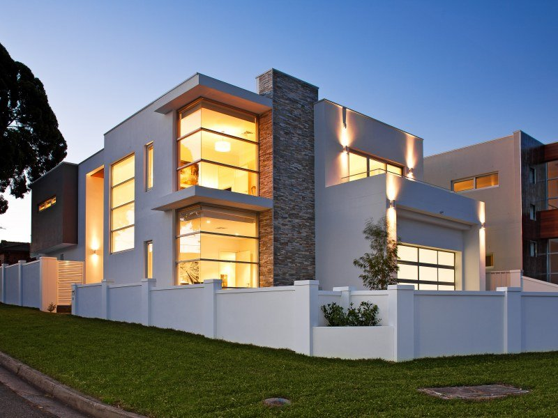 Elegant Home Facade Layout Design Image - 4 Home Ideas